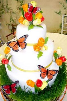 butterfly wedding cake designs - https://www.facebook.com/different.solutions.page