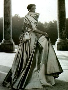 This is probably one of my favourite Christian Dior creations of all time...and the setting isn't half bad, either.