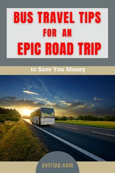 The best tips and hacks for traveling by bus. Get this fan favorite budget travel guide to plan your next epic road trip. Download 50 free resources to uncover the secrets to save you time, money and hassle. Budget Travel, Travel Guide, Bus Travel, Weekend Getaways, Road Trips, Save Yourself, Saving Money, Budgeting, Traveling
