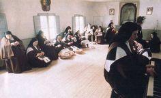 spanish carm nuns at recreation