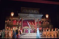 Turandot from Palau de les Arts Reina Sofia. Production by Chen Kaige. Sets by Liu King.