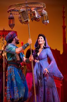 Courtney Reed as Jasmin. Disney's Aladdin on Broadway. Interview with Costume Designer Gregg Barnes - Tyranny of Style