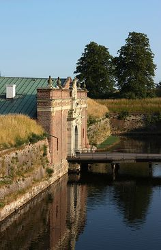 Gate to Kronborg Castle, Denmark