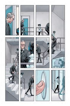 FRANK QUITELY on PAX AMERICANA: 'Subsequent Readings Will Reward You' | Newsarama.com