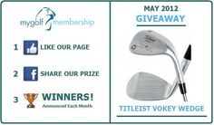 Our competition for this month... http://www.facebook.com/mygolfmembership