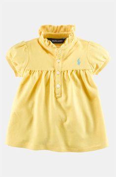 Ralph Lauren Polo Shirt (Infant) | Nordstrom