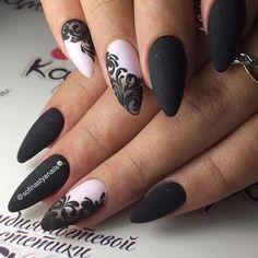 Elegant Nails: 21 Fashionable Inspiration for Beautiful Manicure Elegant Nails, Stylish Nails, Trendy Nails, Fabulous Nails, Gorgeous Nails, Acrylic Nail Designs, Nail Art Designs, Lace Nail Design, Acrylic Nails