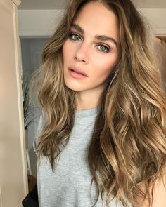 """32.8k Likes, 235 Comments - @maripiermorin on Instagram: """"Not sure when my hair grew that long but i kinda dig it! Especially when @leslie_ann_thomson works…"""""""