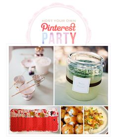 host a pinterest party ... this would be a GREAT way to do a recurring gathering with my best girls! love this idea!