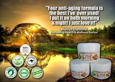 Awesome Anti-Aging cream that is all-natural and actually works. Check it out!