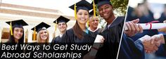 Best ways to get study abroad scholarships