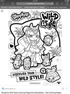 Print shopkins season 9 wild style 8 coloring pages ...