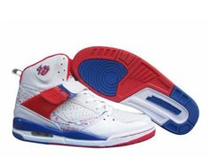 the best attitude c2d30 3b9b6 Air Jordan Retro 3 High Shoes In White Red Blue