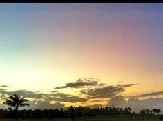 Atardecer en Río Grande durante el evento de golf Puerto Rico Open. Tomada el 8 de marzo de 2012. www.miprv.com