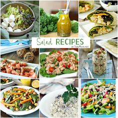 HUGE collection of salad recipes at the #SaladSocial