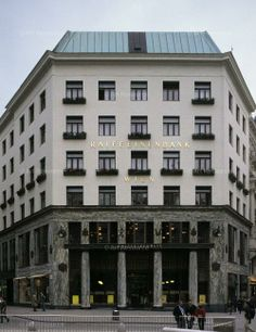 Adolf Loos, Haus in Michaelerplatz, Wien, 1911-12 (Loos-Haus)