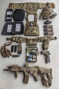 """ Who made that plate carrier? Tactical Survival, Survival Gear, Tactical Gear, Survival Quotes, Military Gear, Military Weapons, Military Life, Bug Out Gear, Gear 2"