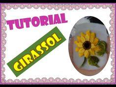Flor de três pétalas (fácil de fazer) adesivos de unha - YouTube