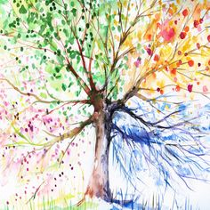 See Seasons Art Prints at FreeArt. Get Up to 10 Free Seasons Art Prints! Gallery-Quality Seasons Art Prints Ship Same Day. Canvas Art Prints, Painting Prints, Painting Canvas, Ink Painting, Framed Prints, Art Watercolor, Colorful Trees, Colorful Decor, Art Plastique