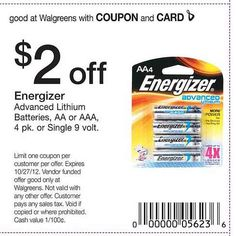 Browse for Walgreens coupons valid through December below. Find the latest Walgreens coupon codes, online promotional codes, and the overall best coupons posted by our team of experts to save you 25% off at Walgreens. Our deal hunters continually update our pages with the most recent Walgreens promo codes & coupons for , so check back often!