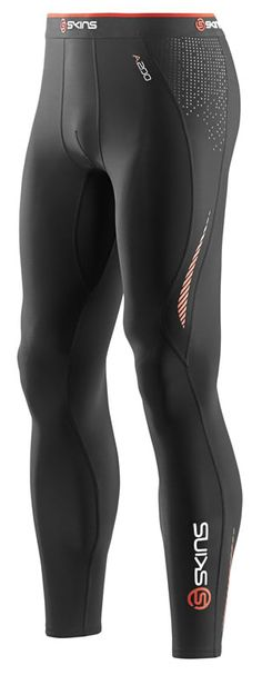 Skins A200 Half Tights Compression Running Pants Fitness Running Sports Shorts To Ensure Smooth Transmission Activewear Bottoms