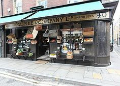 Stunning old fashioned shop in #Spitalfields - want more images? Click right here http://www.lightlocations.com/locations/verde-co-e1//?cat_u=