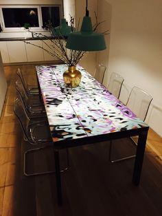 Schöner Esstisch von Rohstahl Design