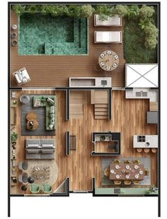Sims Building, Building A House, Casas The Sims 4, Sims 4 Build, Sims 4 Houses, 3d Home, Modern House Plans, House Layouts, Furniture Plans