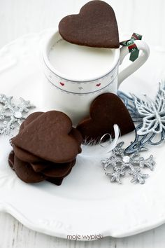 Galletas de jengibre de chocolate