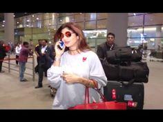 Shilpa Shetty spotted with no bodyguard at Mumbai airport. Mumbai Airport, Shilpa Shetty, Coat, Fashion, Moda, Fashion Styles, Peacoats, Coats, Fashion Illustrations