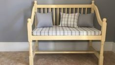 How to re-cover patio furniture cushions Patio Furniture Cushions, Patio Furniture Covers, Patio Cushions, Porch Furniture, Furniture Making, Cool Furniture, Furniture Ideas, Patio Cushion Covers, Old Benches