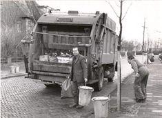 Garbage men doing their job