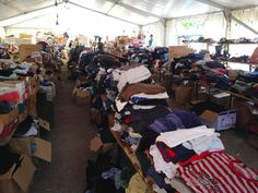 Meine Erfahrungen in Traiskirchen » Bei meinem Besuch in Traiskirchen zur Ausgabe der Spenden an die F ...