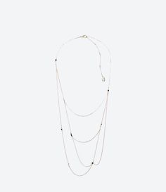 """""""UNTITLED JEWELS"""" COLLECTION BEAD NECKLACE - Jewellery - Accessories - WOMAN 