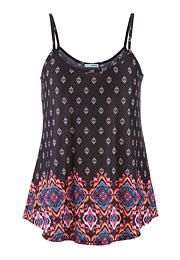 multicolor ethnic print swing tank - maurices.com