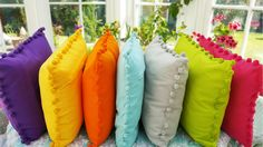 Inject some colour in your home this summer with these lovely cushions from Ragged Rose