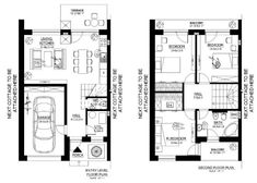 7 tiny home floor plans under 1000 square feet for big families Not pretty on the outside but very practical