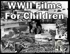 Kathys Cluttered Mind: World War II Films For Children - also has a documentary printable. History Classroom, History Teachers, Teaching History, History Education, 7th Grade Social Studies, Teaching Social Studies, Teaching Tools, Teaching Ideas, Films For Children