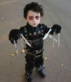 #Cosplay de El Joven Manos de Tijera | #Halloween