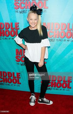 Jojo Siwa arrives for the premiere of CBS Films' 'Middle School: The... News Photo | Getty Images