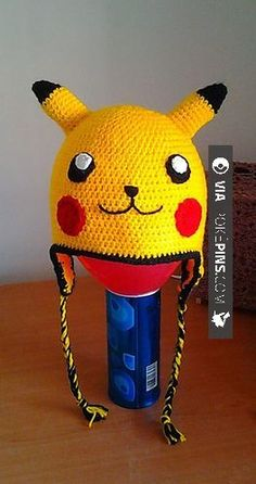 Free Pikachu hat pattern