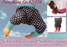 Pumphose Hose Nähanleitung / Schnittmuster  von selbermacher auf DaWanda.com