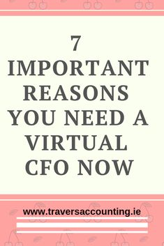 From Travers Accounting Services why your business needs a Virtual CFO. This will bring you a the skills and expertise of a professional accountant, without the costs of hiring a full time CFO. Business Money, Business Tips, Online Business, Email Form, Accounting Services, Business Essentials, Direct Mail, Online Advertising, Thought Provoking