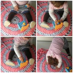 tutorial how to make a carpet with trapillo (2)