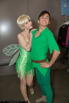 Tinker Bell and Peter Pan | Fanime 2013