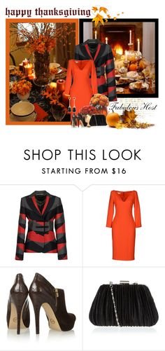 """Thanksgiving"" by dgia ❤ liked on Polyvore featuring Emporio Armani, Antonio Berardi, MICHAEL Michael Kors and Syna"
