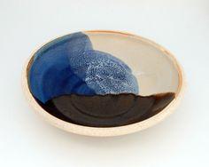Wheel Thrown Serving Bowl  Ceramic Bowl by SawyerCeramics on Etsy, $35.00