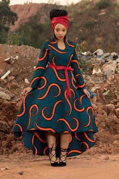 Wide Ankara dress magical design - African Fashion Dresses - Maria D. African Fashion Ankara, African Fashion Designers, Latest African Fashion Dresses, African Inspired Fashion, African Dresses For Women, African Print Dresses, African Print Fashion, Africa Fashion, African Attire
