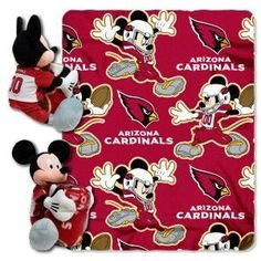 Arizona Cardinals Disney Hugger Blanket