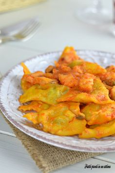 RAVIOLI ALLA CERNIA...un primo piatto veramente appetitoso. Non perdetevi la ricetta!!!